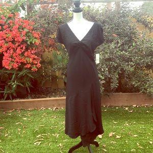 🌘 NWT AGB black, ruffled, sequined DRESS